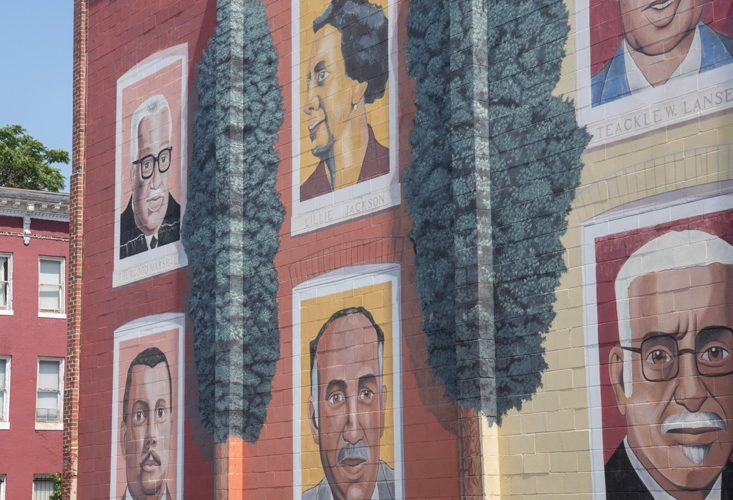A mural in Druid Heights