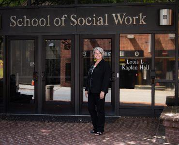 Dean Judy L. Postmus, School of Social Work