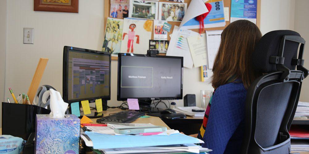 Kathleen Neuzil's Desk