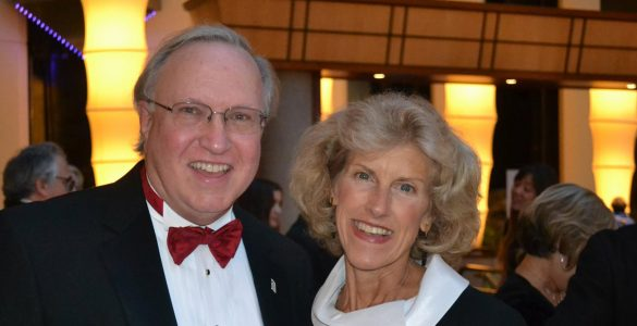 Harry and Nora Knipp have provided philanthropic support for UMB scholarships, Davidge Hall preservation, community engagement efforts, and more.